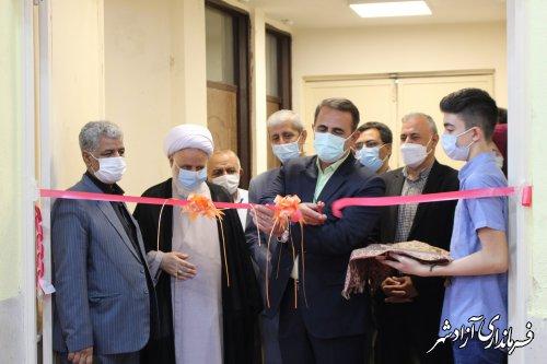 سالن ورزشی شهید سلیمانی شهر نگین شهر افتتاح شد