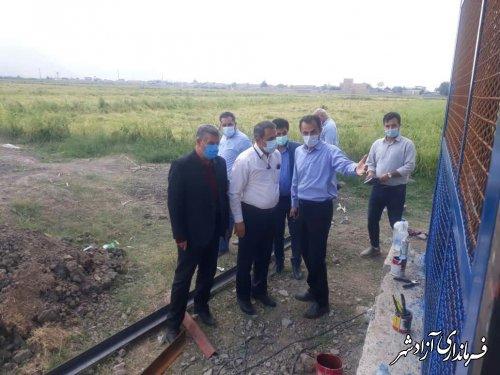 مشکلات آب شرب آزادشهر را تا رفع کامل به صورت جدی پیگیری میکنیم