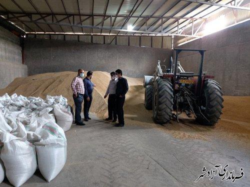 فرماندار آزادشهر از کارگزاری های توزیع و فروش نهاده های دامی سطح شهرستان بازدید کرد