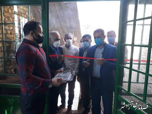 خانه ورزش روستایی در روستای رحیم آباد شهرستان آزادشهر افتتاح شد