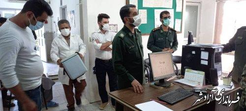 رزمایش اجرای واکسیناسیون کرونا محله محور طرح شهید سلیمانی در آزادشهر برگزار شد