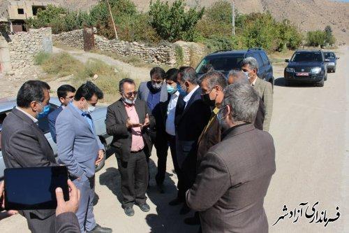 تأمین آسایش و رفاه مردم روستاهای بخش چشمه ساران با تسریع درروند گازرسانی